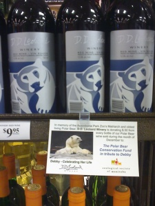 Look for the polar bear on your next visit to the wine store!