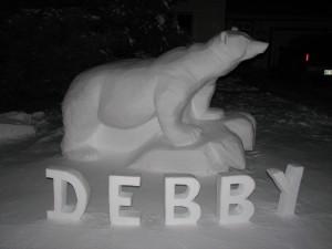 Debby during Christmas 2008